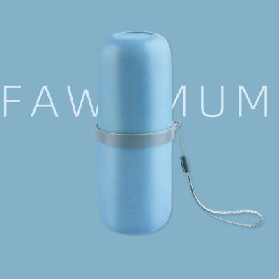 Fawnmum Travel Toothbrush Cup Blue